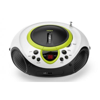 Lenco CD speler: SCD-38-USB - Groen