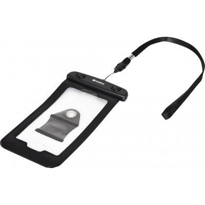 Sandberg : Waterproof Phone Pouch<5.5'' - Zwart, Transparant