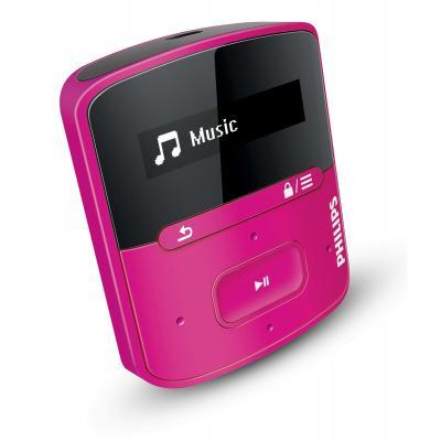 Philips MP3 speler: GoGear MP3-speler - Roze