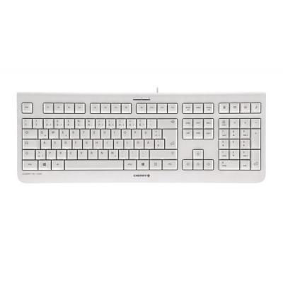 Cherry toetsenbord: KC 1000 - Grijs, QWERTZ
