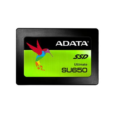 Adata SSD: Ultimate SU650 - Zwart