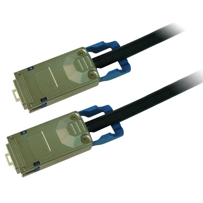 Cisco netwerkkabel: FlexStack-Plus stacking cable with a 1.0 m length, Spare - Zwart