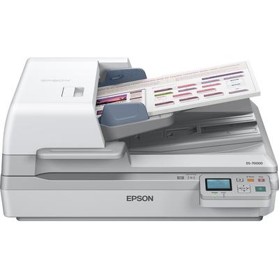 Epson WorkForce DS-70000N Scanner - Grijs