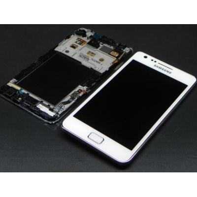 Samsung mobile phone spare part: GT-I9105P Galaxy S2 Plus - Complete Front+LCD+Touchscreen