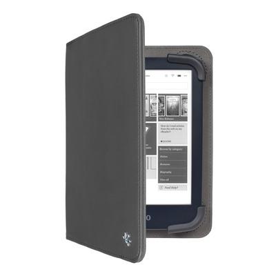 Gecko Universal 6+7 inch E-Reader Stand Cover - Zwart Tablet case