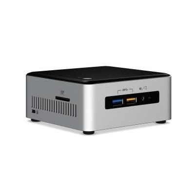 Intel barebone: NUC6i5SYH - Zwart, Zilver
