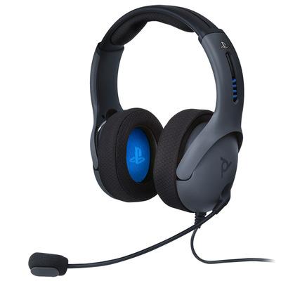 PDP LVL50 Headset - Zwart,Blauw