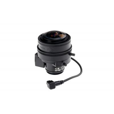 Axis 2.2 - 6mm, DC-Iris, CS mount, IR Camera lens - Zwart