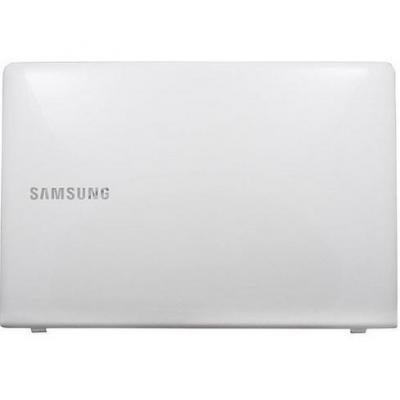 Samsung notebook reserve-onderdeel: LCD Back Cover, Silver - Zilver