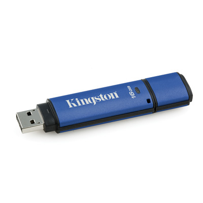 Kingston Technology DataTraveler Vault Privacy 3.0 with Management 16GB USB flash drive - Zwart, .....