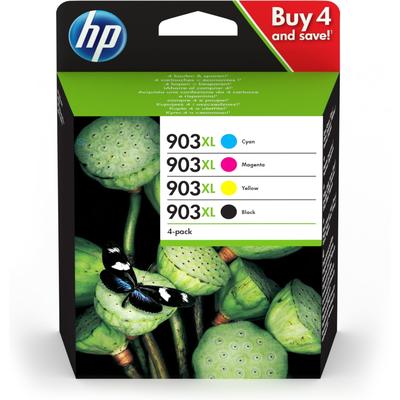 HP 903XL inktcartridge - Zwart, Cyaan, Magenta, Geel