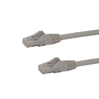 StarTech.com 75ft CAT6 Ethernet Cable - Gray CAT 6 Gigabit Ethernet Wire -650MHz 100W PoE RJ45 UTP .....