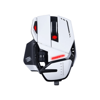 Mad Catz R.A.T. 6+ Muis - Wit