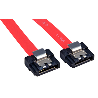 Lindy Internal SATA, 0.50m ATA kabel - Rood