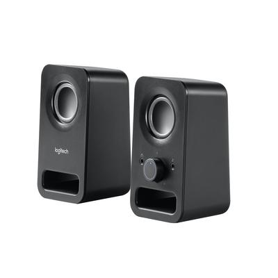 Logitech Z150 Stereos Helder stereogeluid Speaker - Zwart