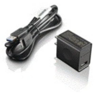 Lenovo oplader: ThinkPad 8 AC Adapter - Zwart