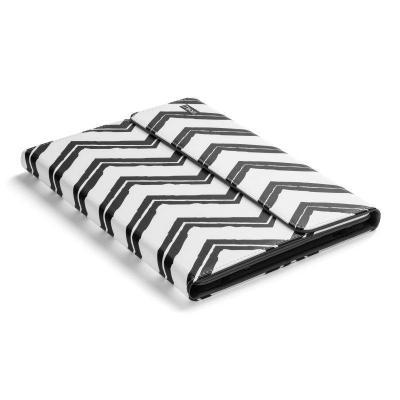 """Kensington tablet case: Universele Hoes voor 9""""- 10"""" Tablets - Zwart/Wit Gestreept - Zwart, Wit"""