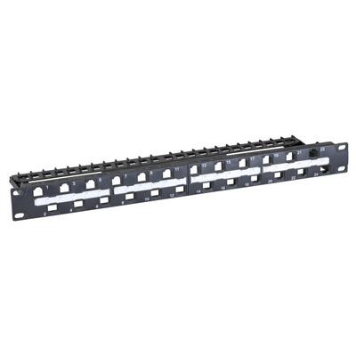 EFB Elektronik 37589.1 Patch panel - Zwart