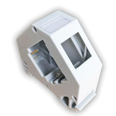 ROLINE Adapter Voor Keystone Houder, Dun, Leeg Montagekit - Wit