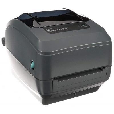 Zebra GK420t TT - USB - Ethernet Labelprinter - Grijs