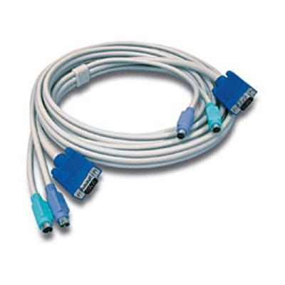 Trendnet TK-C10 KVM kabel - Grijs