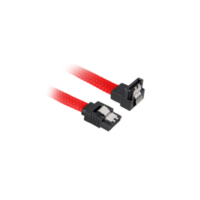 Sharkoon ATA kabel: SATA 3 - Zwart, Rood