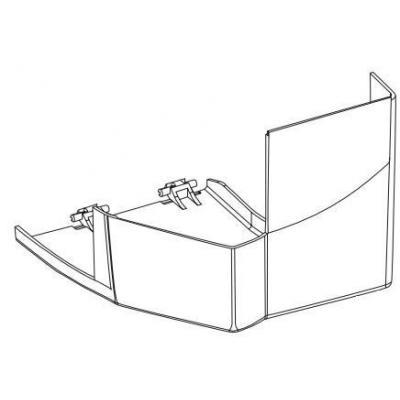 Intermec Short Door for EasyCoder F4 Industrial Printers, Light Gray Printing equipment spare part