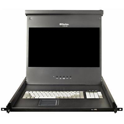 Raritan T1700 Rack console - Zwart