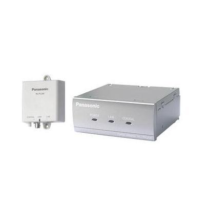 Panasonic LAN, coaxial, PoE+, 45 Mbps Media converter - Zilver, Wit