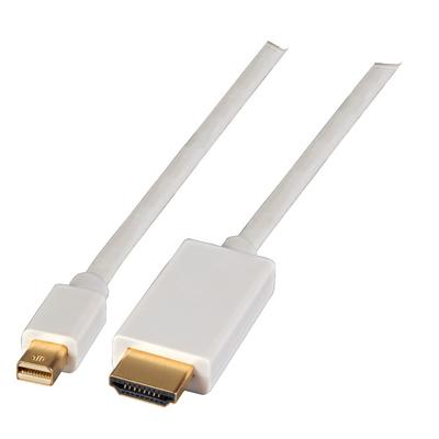 EFB Elektronik Mini DisplayPort - HDMI, 1m - Wit