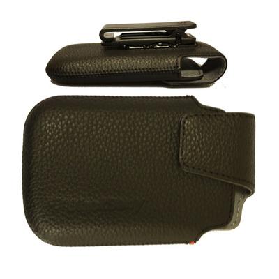 BlackBerry ACC-38855-201 - Bold 9930/9900 Leather Swivel Holster Mobile phone case - Zwart