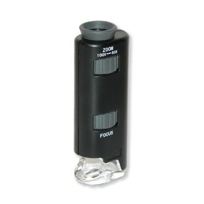 Carson microscoop accessoire: MM-200 - 60-100x, 3 x SG3 - Zwart, Grijs