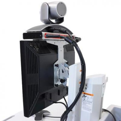 "Ergotron 55.88 cm (22"") max, 17.7 kg max, 43 cm Multimedia kar & stand"