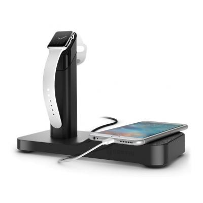 Griffin oplader: WatchStand Powered Charging Station - Zwart