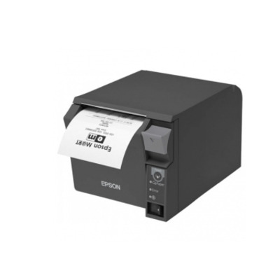 Epson TM-T70II (025C0): UB-E04 + Built-in USB, PS, Black, EU Pos bonprinter - Zwart