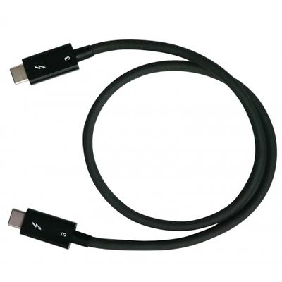 QNAP CAB-TBT305M-40G-LINTES Thunderbolt kabel - Zwart