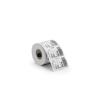 Zebra Z-Perform 1500T, Thermal Transfer, Coated Paper, RFID Label, Permanent Adhesive Etiket - Wit