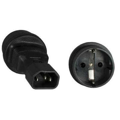 Microconnect PE14CEEAD Stekker-adapter - Zwart