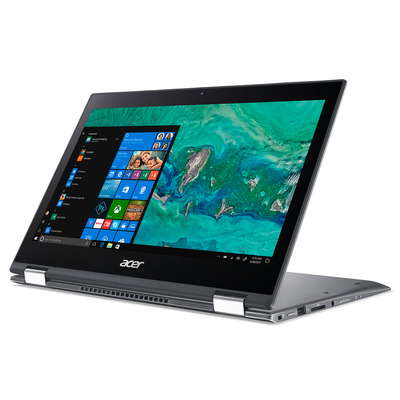"""Acer Spin 5 Pro SP513-53N-50JN 13,3"""" Touch i5 8GB RAM 512GB SSD - QWERTY Laptop - Grijs"""