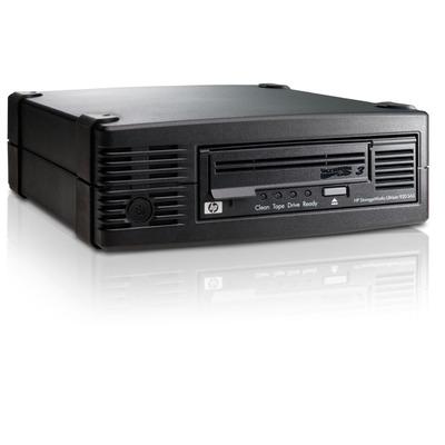 Hewlett packard enterprise tape drive: StoreEver LTO3 Ultrium 920 SAS - Zwart