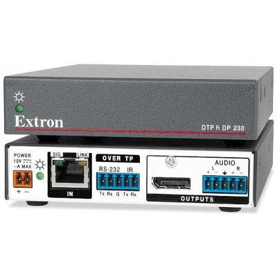 Extron reciever: DTP R DP 230 - Zwart