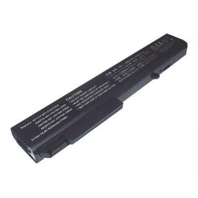 HP 8-cell lithium-ion (Li-Ion), 2.55Ah, 73Wh - for EliteBook 8740w Refurbished batterij - Zwart (Refurbished ZG)