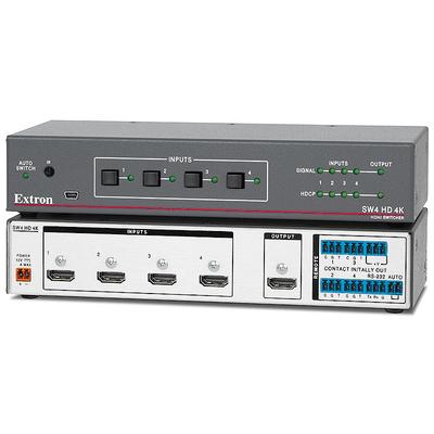 Extron SW4 HD 4K Video switch - Grijs,Wit