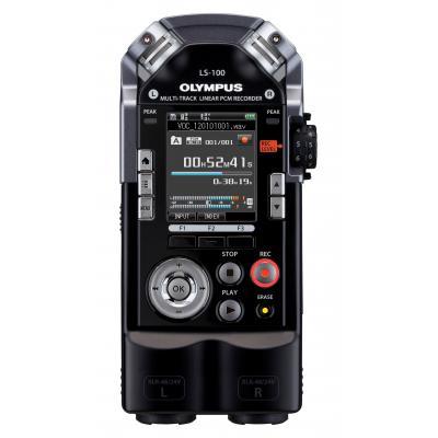 Olympus voice recorder: LS-100 - Zwart