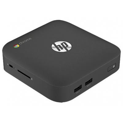 Hp pc: Chromebox - Intel Celeron (1.4GHz) - 16GB SSD - Zwart