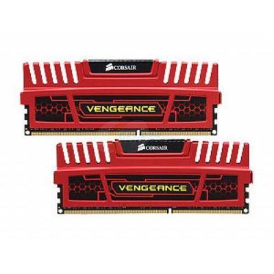 Corsair RAM-geheugen: Vengeance RED 8GB (2x4GB) DDR3 1600MHz DIMM