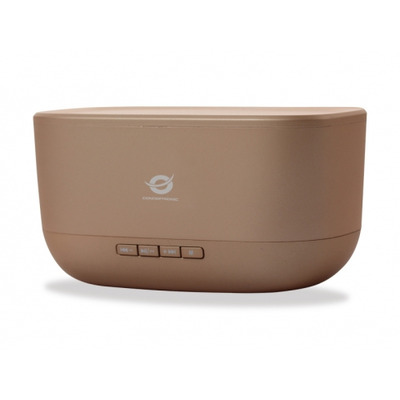 Conceptronic BABYLON Wireless Bluetooth Speaker, Bluetooth 2.1, DC 5V, 5W * 2, 60-18000 Hz, Gold Draagbare .....