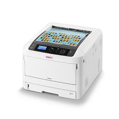 OKI C834nw Laserprinter - Zwart, Wit