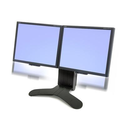 Ergotron LX Series Dual Display Lift Stand Monitorarm - Zwart