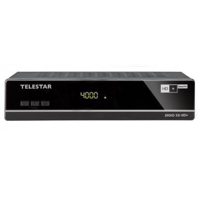 Telestar ontvanger: DIGIO 33i HD+ - Zwart